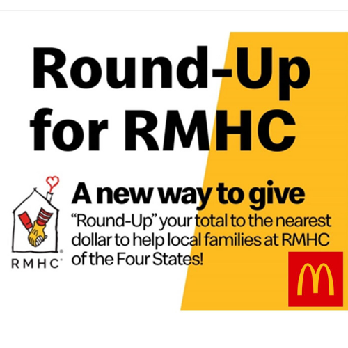 Round-Up for Ronald McDonald House Charities