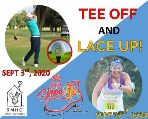 Tee Off & Lace Up! - Coming this Sept.